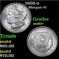 1900-o Morgan Dollar $1 Grades Select+ Unc