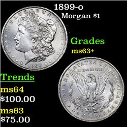 1899-o Morgan Dollar $1 Grades Select+ Unc