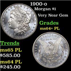 1900-o Morgan Dollar $1 Grades Choice Unc+ PL