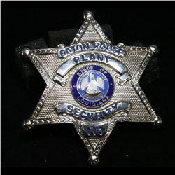 Vintage Baton Rouge Louisina Plant Security Badge
