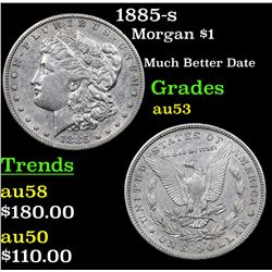 1885-s Morgan Dollar $1 Grades Select AU