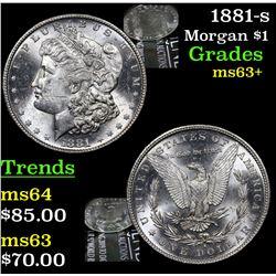 1881-s Morgan Dollar $1 Grades Select+ Unc