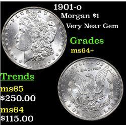 1901-o Morgan Dollar $1 Grades Choice+ Unc