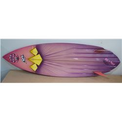 "Hawaiian Islands Custom Surfboard w/ Case, ""Rock Pile"" by Cino Magalianes"