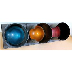 Durasic Traffic Lights w/ Brackets - Red, Yellow, Green