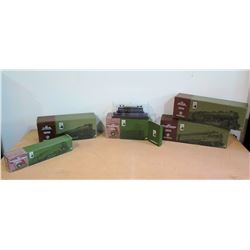Qty 5 Boxed Lionel Train Cars - 746 Norfolk & Western Steam Locomotive, etc