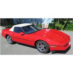 1987 Corvette Red 50,891 Miles, Excellent Condition (Runs & Drives - See Video)
