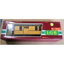 Train Passenger Car D&RGW 3083 in Box by L.G.B. Lehmann-Gross Bahn Big Train