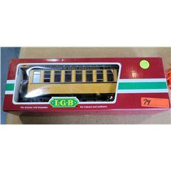 Train Passenger Car 30800 D&RGW in Box by L.G.B. Lehmann-Gross Bahn Big Train
