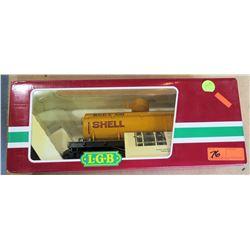Shell Oil Train Car 4080-Y in Box by L.G.B. Lehmann-Gross Bahn Big Train