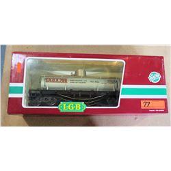 Shell Oil Train Car 4280 in Box by L.G.B. Lehmann-Gross Bahn Big Train