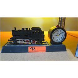 Lionel Collectible Train Watch & Train w/ Quartz Clock on Base