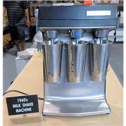 Scovill Hamilton Beach 1960's Triple Milk Shake Machine