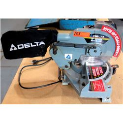"Delta 10"" Power Miter Saw w/ Carbide-Plated Saw Blade"