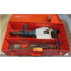 Bosch 11305 Demolition Hammer w/ Attachments & Cords, Metal Case