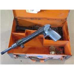 Hammer Gun w/ Metal Case & Attachments