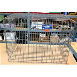 Metal Pet Cage Kennel Carrier
