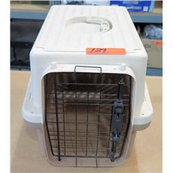 Plastic Pet Carrier w/ Metal Door