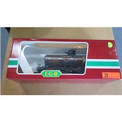 Harley Davidson Train Oil Car in Box by L.G.B. Lehmann-Gross Bahn Big Train
