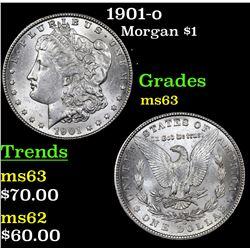1901-o Morgan Dollar $1 Grades Select Unc