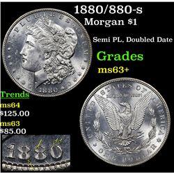 1880/880-s Morgan Dollar $1 Grades Select+ Unc