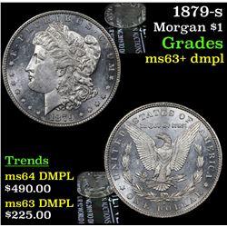 1879-s Morgan Dollar $1 Grades Select Unc+ DMPL