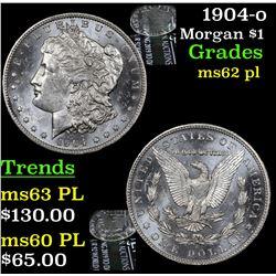 1904-o Morgan Dollar $1 Grades Select Unc PL