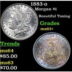 1883-o Morgan Dollar $1 Grades Select+ Unc