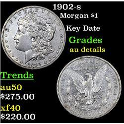 1902-s Morgan Dollar $1 Grades AU Details