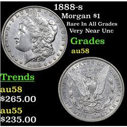 1888-s Morgan Dollar $1 Grades Choice AU/BU Slider