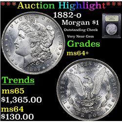 ***Auction Highlight*** 1882-o Morgan Dollar $1 Graded Choice+ Unc By USCG (fc)