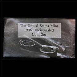 1996 US Mint Set With Rare Dime Mint Set Grades