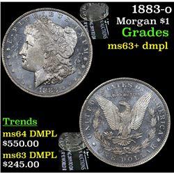 1883-o Morgan Dollar $1 Grades Select Unc+ DMPL
