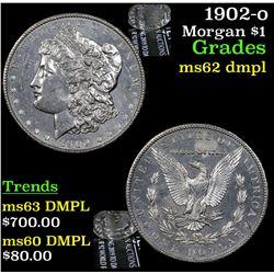 1902-o Morgan Dollar $1 Grades Select Unc DMPL