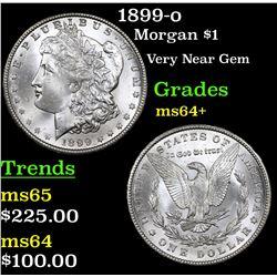 1899-o Morgan Dollar $1 Grades Choice+ Unc