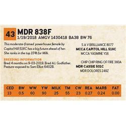 MDR 838F