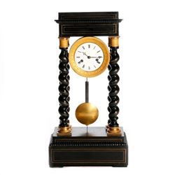 A 19th century French clock.