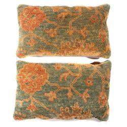 Pair of pillows.