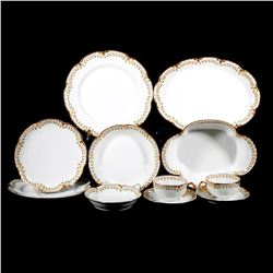 A set of Haviland porcelain.