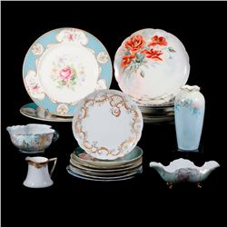 A collection of 20th century porcelain.