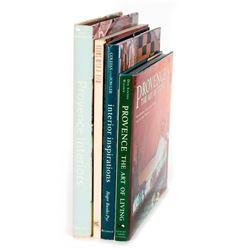 Four books of Interior Design.
