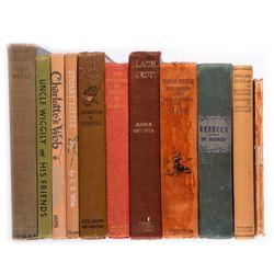 Vintage children's books.