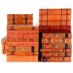 Assorted Swedish volumes.