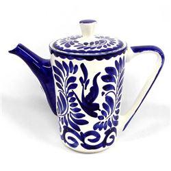 Mexican Anfora Cobalt Blue Coffee Pot