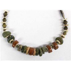 Native American Navajo Stone Bead Necklace