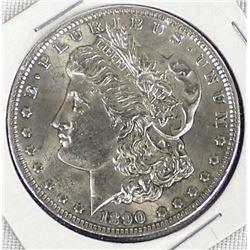 1890 Morgan Silver Dollar