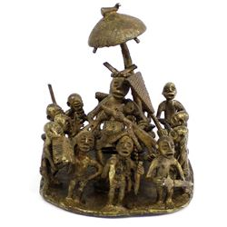 Antique Benin Kingdom Nigeria, African Bronze