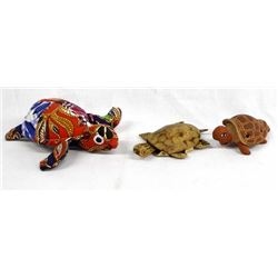 3 Turtle Collectibles