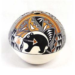 Acoma Pottery Seed Jar by Yolanda Trujillo