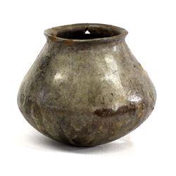 Prehistoric Casas Grandes Black Burnished Pottery
